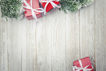 Christmas Gifts with Copy Space