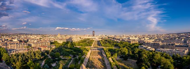 Panorama of Paris. Olympiad.