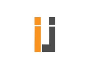 IJ Initial Logo for your startup venture