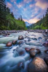 Mt Baker Sunset, Mount Baker National Forest, Washington State