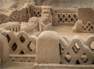 Ancient ruins of Chan Chan - Trujillo, Peru