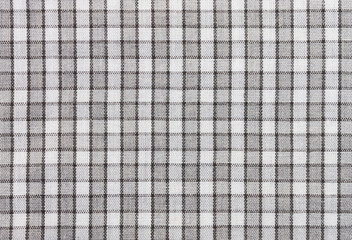 Black and White Tablecloth Fabric Texture Pattern Background for Design