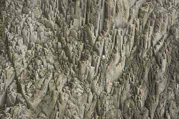 Basalt columns texture