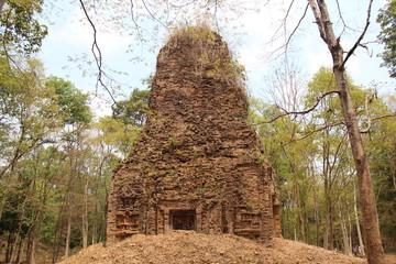 Cambodia . Sambor Prei Kuk Temple . Kampong Thom Province . Kampong Thom City .