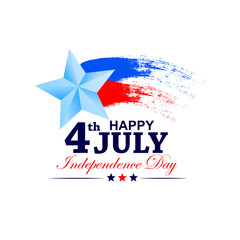 4th of July celebration for Happy Independence Day of America