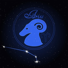 Aries Astrology constellation of the zodiac