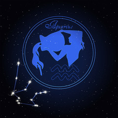 Aquarius Astrology constellation of the zodiac