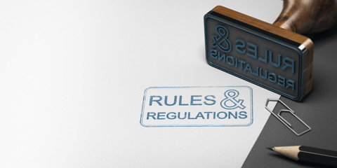 Rules and Regulations Background