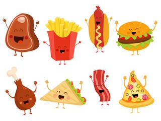 Cute Fast Food Set