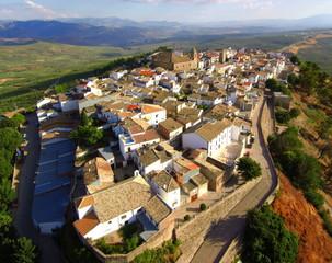 Vista aerea de Ifnatoraf, Jaén