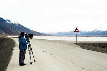 Cinematographer - Longyearbyen - Norway