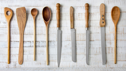 Kitchen - spoons and knives