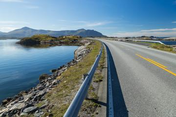 Beautiful Atlantic road in Norway