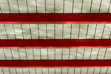 Bottom view under Footbridge