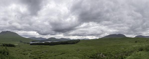 Loch Tulla, Scotland - panorama