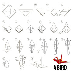 How to Make a Paper Crane (Origami) - Rob's World - YouTube | 240x240