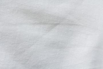 White natural cotton cloth texture