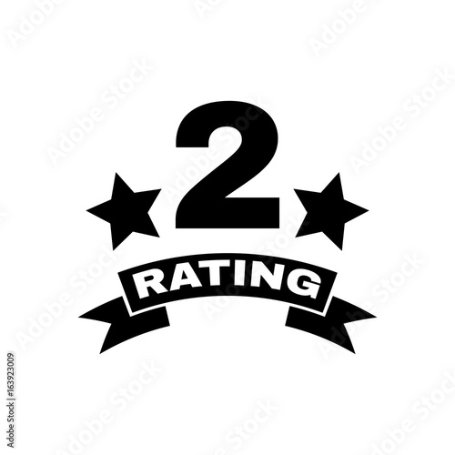 The Second Place Rating Icon Ranking And Classification Star