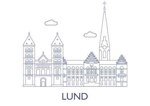 Lund, The most famous buildings of the city