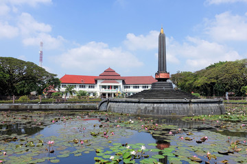 Rathaus in Malang, Indonesien