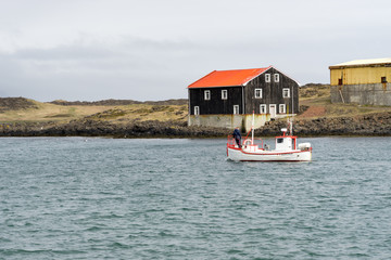 Djupivogur is a small fishing town