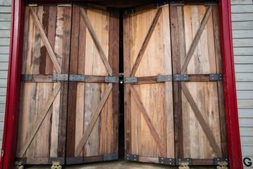 Wooden Door Wallpaper