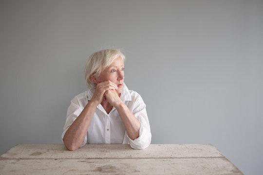 Portrait einer Seniorin