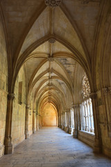 Cloister of the Monastery of Batalha. Portugal