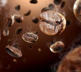 Fotobehang Cafe coffee splash