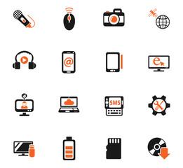 hi tech icon set