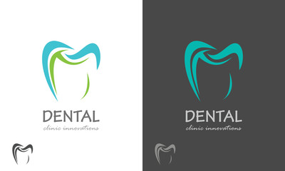 tooth dental logo