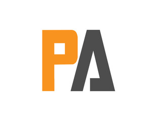 PA Initial Logo for your startup venture