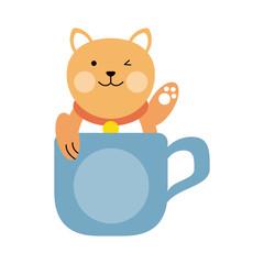 cat cartoon pet animal icon image