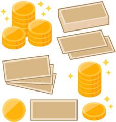 お金のイメージイラスト