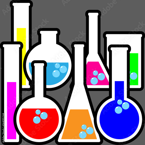 Chemistry Bottles Stock Image And Royalty Free Vector Files
