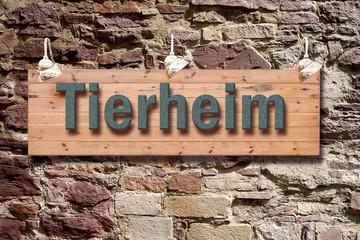 Schild 209 - Tierheim