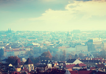 Day view of Prague