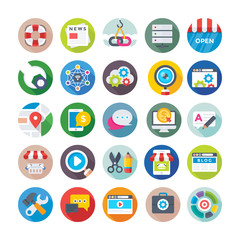 Seo and Digital Marketing Vector Icons 1