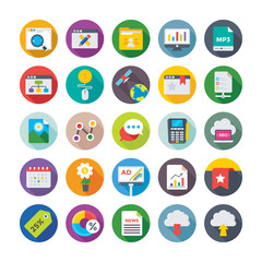 Seo and Digital Marketing Vector Icons 11