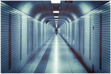 subway tunnel in tokyo