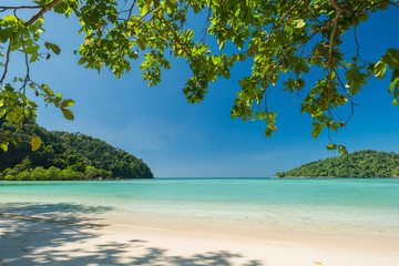 Wall Mural - Beautiful and Breathtaking tropical beach at Surin Island, Thailand