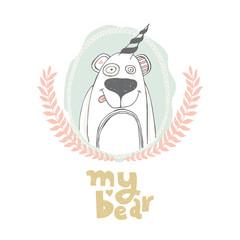 bear vector illustration