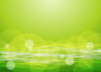 Abstract Green Background #Vector Graphics