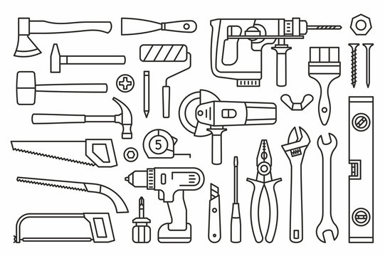 Building tools Icons