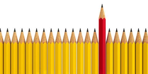 Stand out - pencils #3