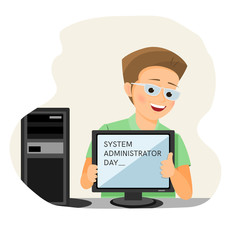 System administrator day card