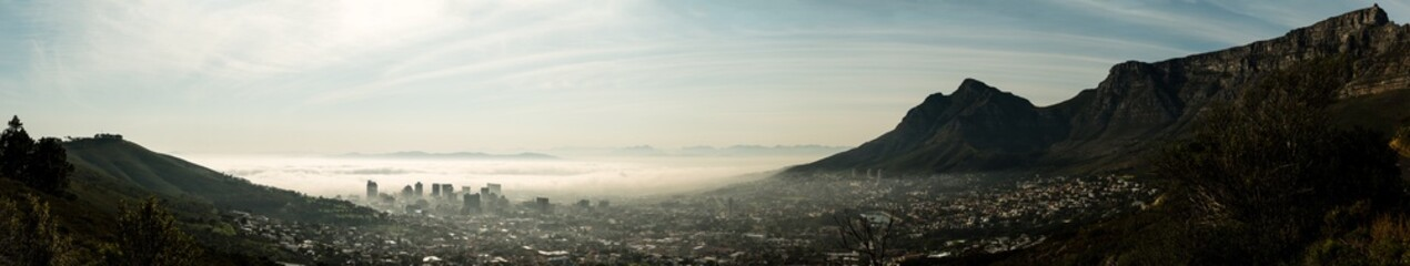 Cape Town (early in the morning)