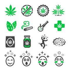 cannabis,marijuana icon