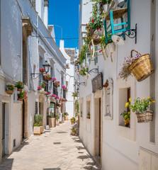 Locorotondo, Bari Province, Apulia, southern Italy.