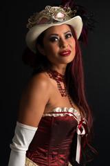 Redhead at cosplay